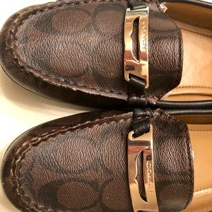 Authentic Coach Loafer- Coffee Brown
